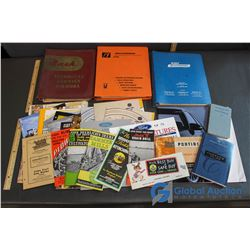 Vehicle Related Books and Papers - Cat, Ford, etc.