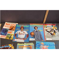 Sports Illustrated Magazines, Other Sports Related Books, Coaching Video