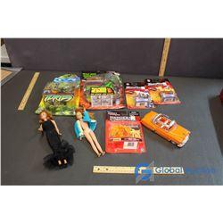 Assorted Toys- NIB Ninja Turtle, NIB Beastwars, NIB Transformers, Dolls,etc.