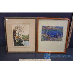 (2) Prints - Tom Thomson, James Boyer