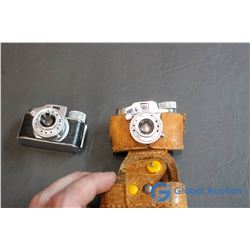 (2) Miniature Hit Cameras One w/ Case