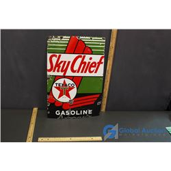 Texaco SkyChief Gasoline Sign