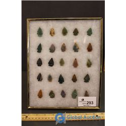 (25) Collectors Stones in Frame
