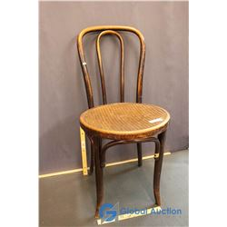 Bentwood & Cane Parlor Chair