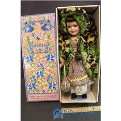 "Vanessa Ricardi Limited Edition Fine Porcelain Doll (14"")"
