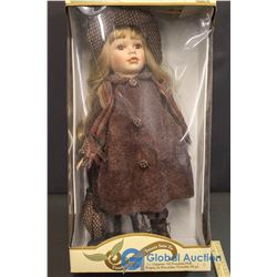 """Timeless Treasures Genuine 18"""" Porcelain Doll"""