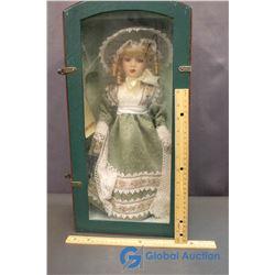 "Collector's Choice Porcelain Doll (17"")"