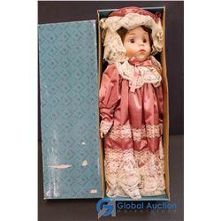 "Doll Collectors - Ashley Porcelain Doll (16"")"