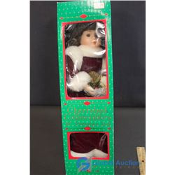 """Catherine Cherished Collectibles 16"""" Porcelain Doll"""