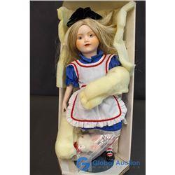 "Franklin Heirloom Dolls - Alice in Wonderland 12"" Doll"