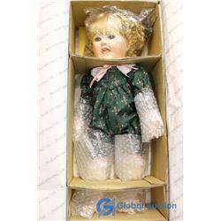 Hamilton Heritage Dolls Lindsay - A Fine Porcelain Doll Sculpted by Mavis Snyder