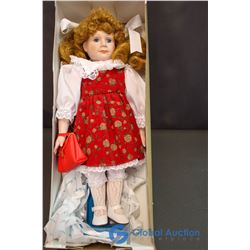 "Marian Yu Design Porcelain Doll (18"")"