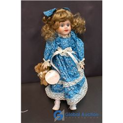 """Jessica - The Rosebud Collection of Porcelain Dolls (16"""")"""