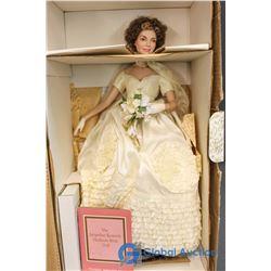 "The Jacqueline Kennedy Heirloom Bride Doll - Franklin Heirloom Dolls (16"")"