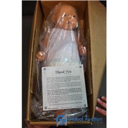 """Newborn Baby Boy Doll (17"""")"""