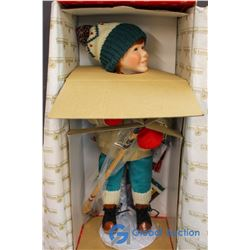 "The Ashton Drake Galleries - ""Brian - Winterfest Collection"" Porcelain Doll"