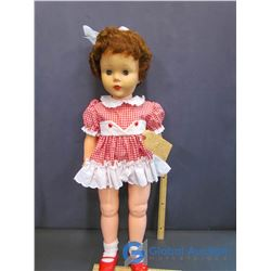 "Little Sister (Walker) Doll 30"" Tall 1960 by Reliable Canada"