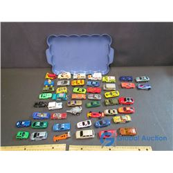 Small Toy Cars - 3 Hotwheels, 1 Match Box, others