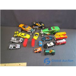 Variety of Toy Vehicles