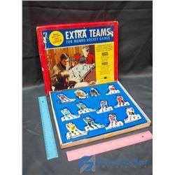 Original Box Extra Tin Hockey Players for Munro Hockey Game