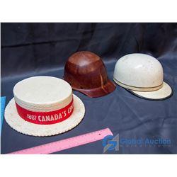 (3) Vintage Hats