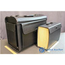 Locking (Number Code) Filing Luggage Briefecase & Large File Case