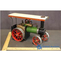 Vintage Steam Engine Tractor Toy Model