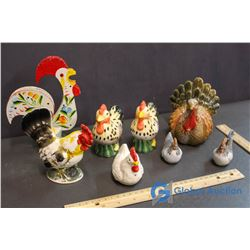 Vintage Country Kitchen Chickens, Rooster Napkin Holder
