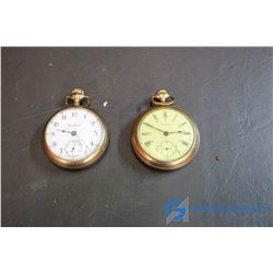 (2) Vintage Pocket Watches