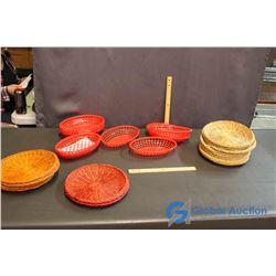Plastic & Woven Baskets