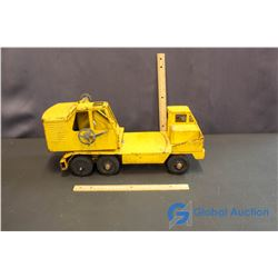 Yellow Metal Toy Truck