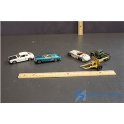 (5) Dinky Toy Cars