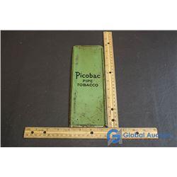 Picobac Pipe Tobacco Metal Advertisement