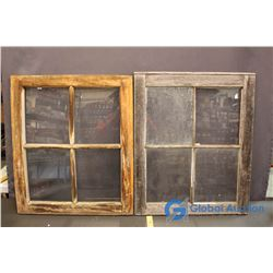 Rustic Farm Windows