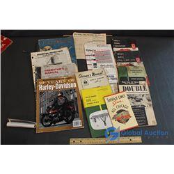 Vintage Tractor Manuals & Magazines