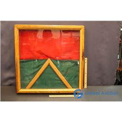 Framed Wooden Display Box w/Latch