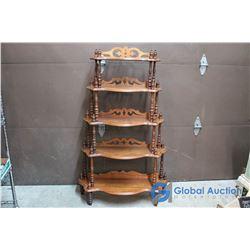 Vintage Wooden Shelf