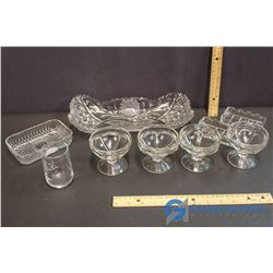 Lot of Glass Serving Dishes