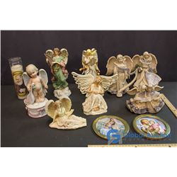 Lot of Angel Related Decor
