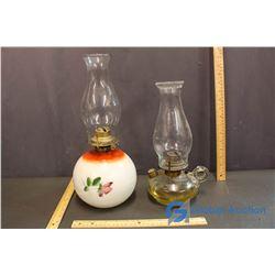 (2) Kerosine Lamps