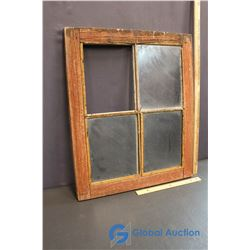 """Vintage Window (20.5""""x24.5"""")"""