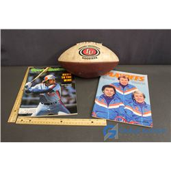 Indiana University Hoosiers Football & Sports Illustrated & Playoffs Magazines