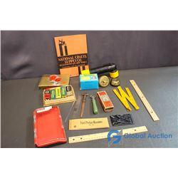 Apex Glass Cutter; Colonial Doorbell; Flashlight; etc