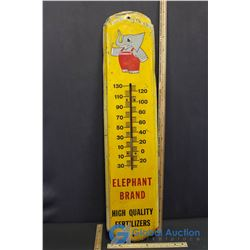 Elephant Brand High Quality Fertilizers Advertising Thermometer (Thermometer broken)