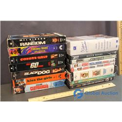 Lot of Movies - DVD's and VHS Tapes