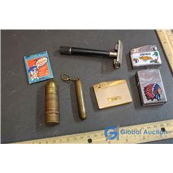 (5) Lighters, Vintage Razor