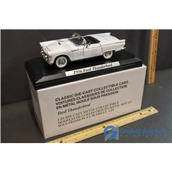 1956 Ford Thunderbird Model Car w/Stand
