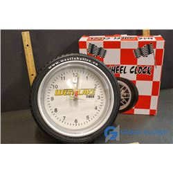 West Lake Tires Clock (Working)