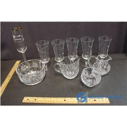 Lot of Misc Glassware & Crystal