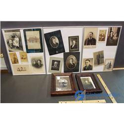 Collection of Framed Vintage Photographs